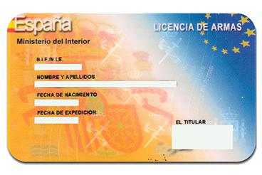 Licencias Armas y Pesca